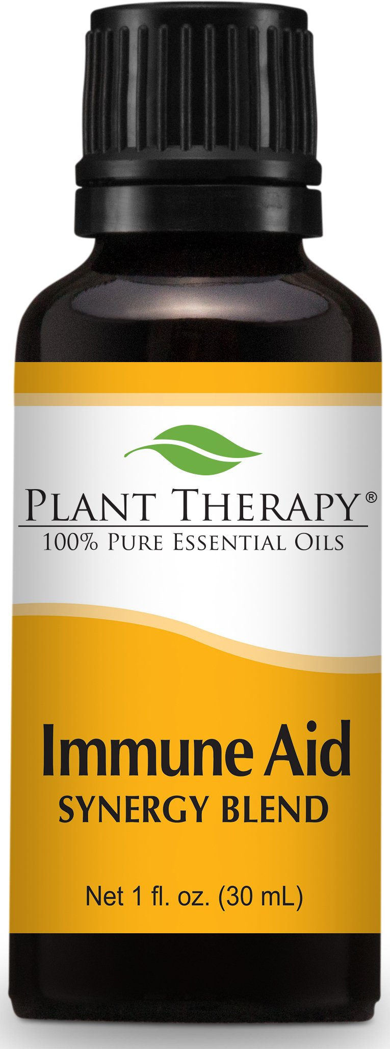 Plant Therapy Immune Aid Synergy Essential Oil 30 mL (1 oz) 100% Pure, Undiluted, Therapeutic Grade