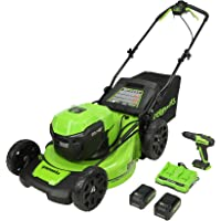 Deals on Greenworks 2 x 24V (48V) 20-Inch Brushless Push Mower MO48L4210-D