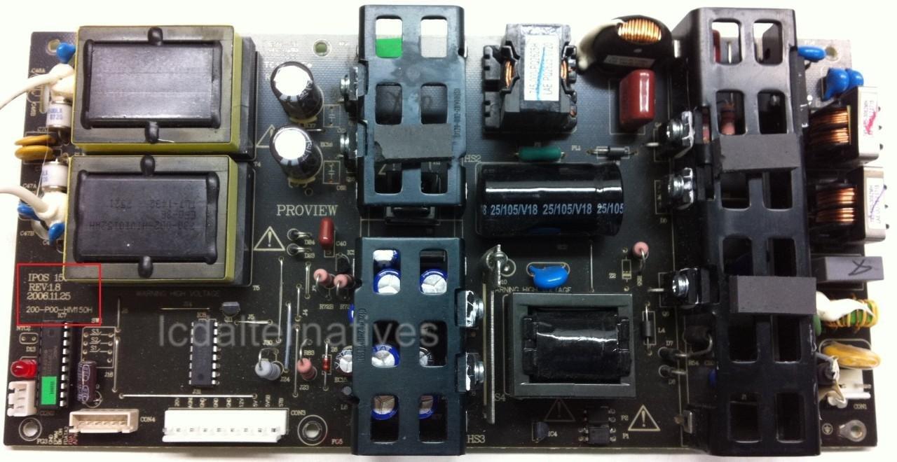 MEMOREX MLT3221 LCD TV Repair Kit, Capacitors Only, Not the Entire Board -  Computer Monitor Repair Kits - Amazon.com