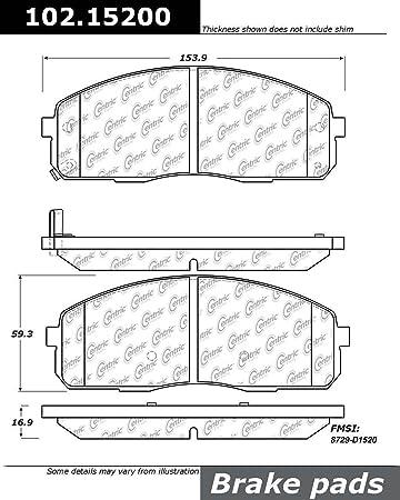 StopTech 102.12450 Brake Pad Metallic