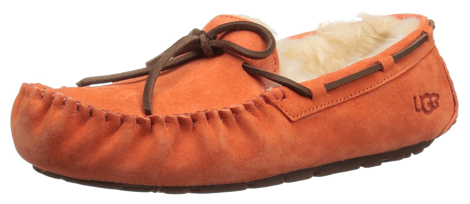 UGG Women's Dakota Moccasin, Fire Opal, 7 B US