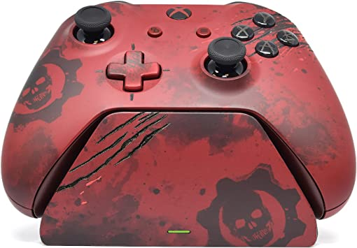 Gears of War 4 Crimson Omen Pro Charging Stand for Xbox One ...