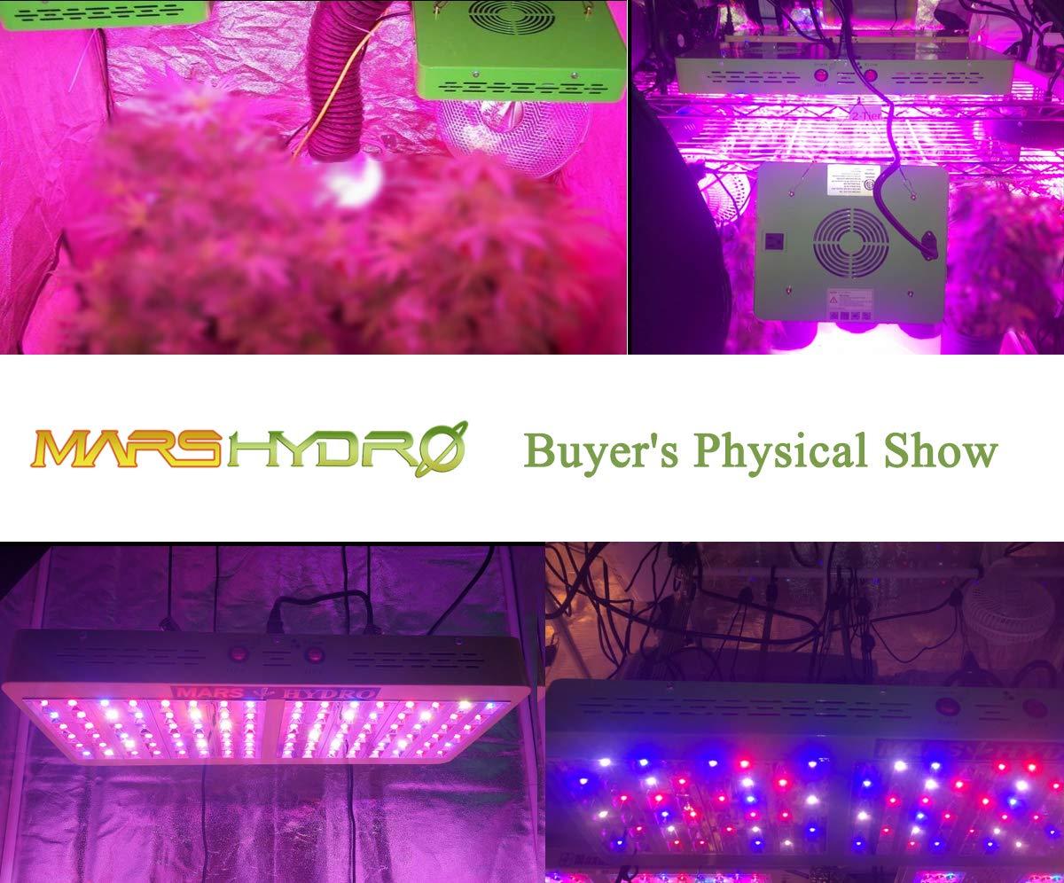 MARS HYDRO Reflector 480W Led Grow Light for Indoor Plants Bloom Veging Flowering Full Spectrum Grow light for Hydroponics Greenhouse by MARS HYDRO