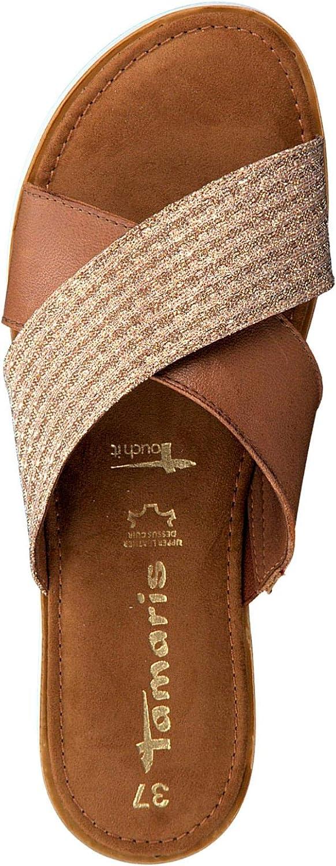 Tamaris 1-1-27200-22 Damen Pantoletten,Pantolette,Hausschuh,Pantoffel,Slipper,Slides,Touch-IT