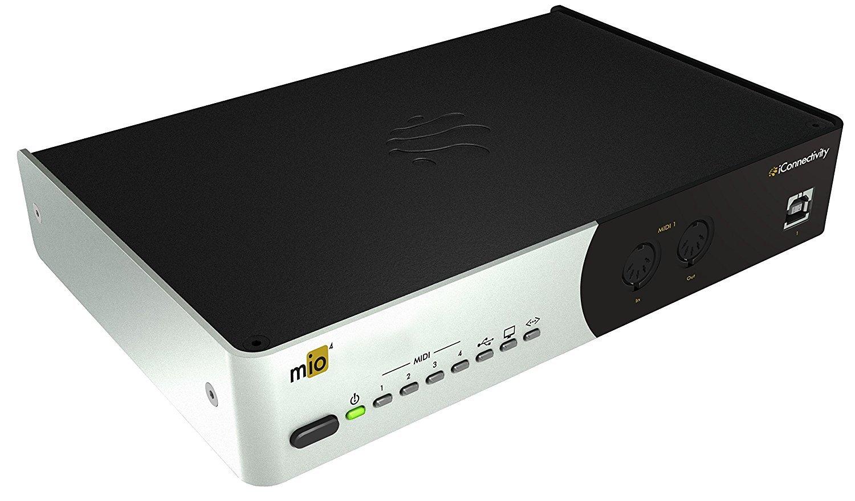 iConnectivity mio4 Advanced 4x4 MIDI Interface With Smart USB Hosting, Network MIDI, and Multi-Computer Capability