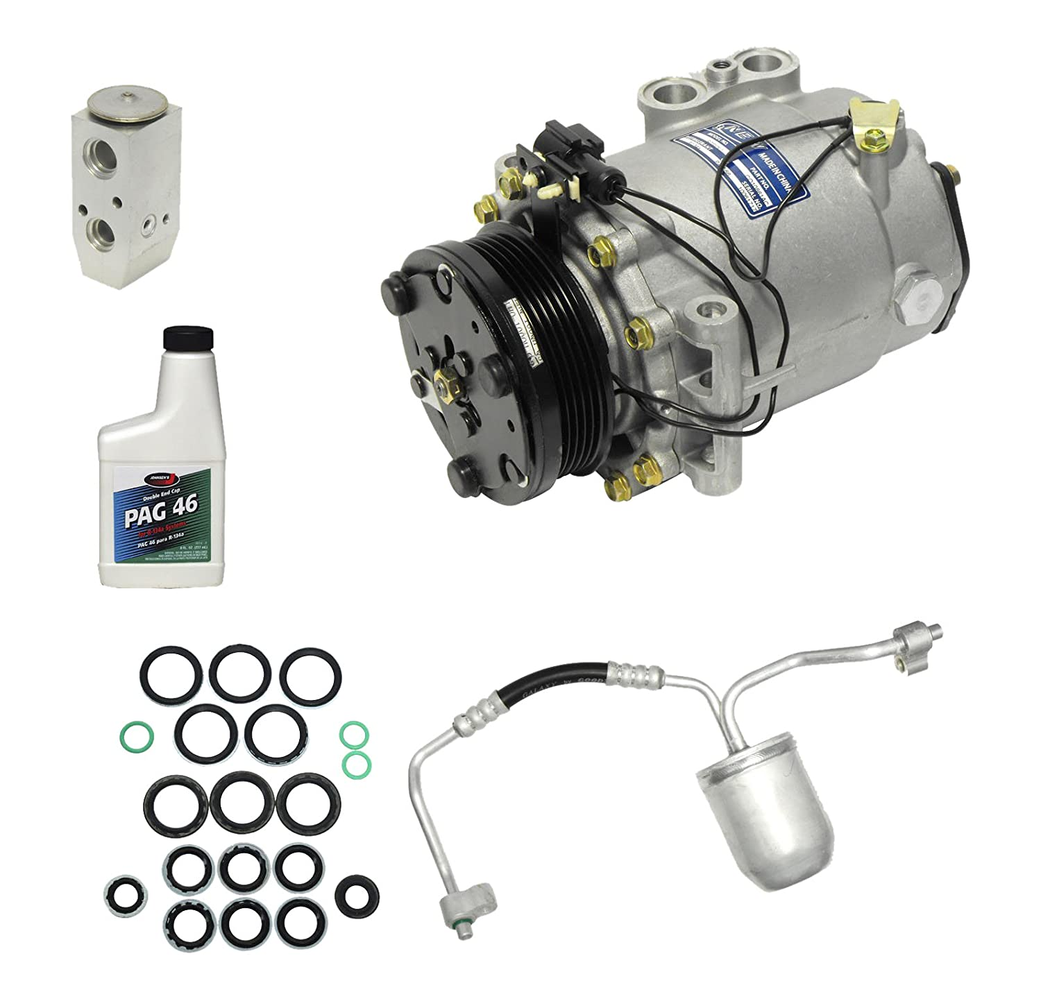 Universal Air Conditioner KT 2040 A//C Compressor and Component Kit