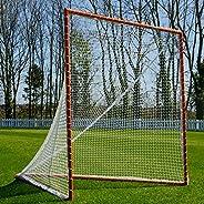Regulation Backyard Lacrosse Goal   6ft x 6ft Steel Freestanding Lacrosse Goals [Single Or Pair]