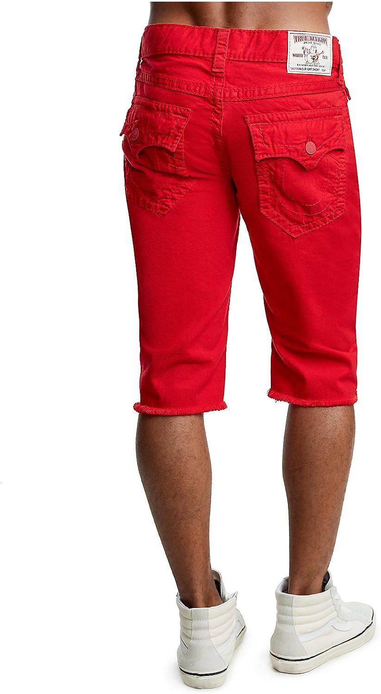 Ralph Lauren Mens Straight Ripped Casual Denim Shorts