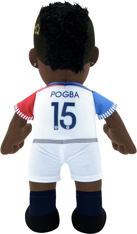 FFF Poupluche Paul Pogba Offizielle Kollektion der franz/ösischen Fu/ßballnationalmannschaft Gr/ö/ße 25 cm