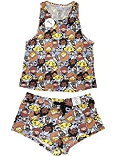 Primark Ladies Girls Womens Disney Lion King Pyjamas Vest Cami T Shirt Top Shorts Pajama Pyjama