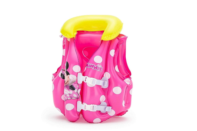 Chaleco Salvavidas Bestway Minnie Mouse: Amazon.es: Juguetes y juegos