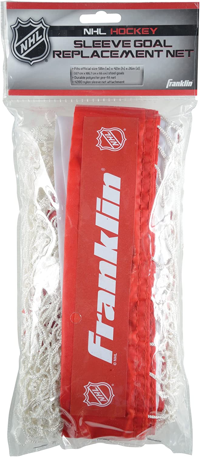 Franklin Sports Hockey Replacement Net - NHL - for Sleeve Goals : Sports & Outdoors