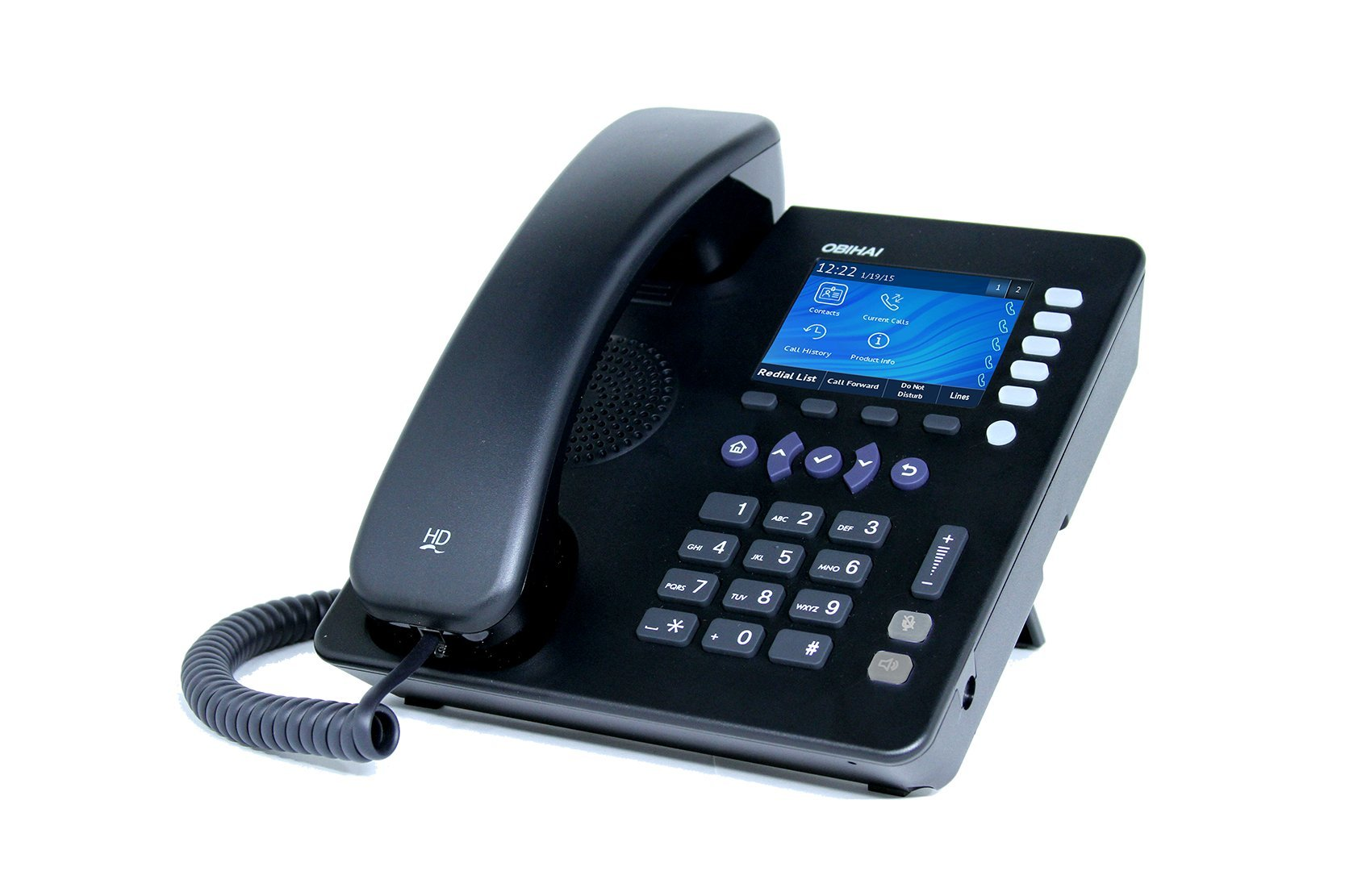 Obihai OBi1022 IP Phone with Power Supply - Up to 10 Lines - Support for Google Voice and SIP-Based Services by Obihai