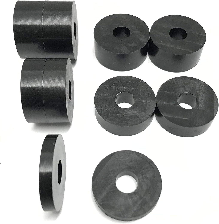 4 x 10 mm de profondeur 2 x 5 mm de profondeur. 4 x 15 mm de profondeur Entretoises en nylon massif de 10 mm de diam/ètre 32 mm