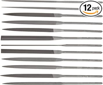 6 in Length American Pattern File Nicholson Half Round Shape 6 Units Double Cut