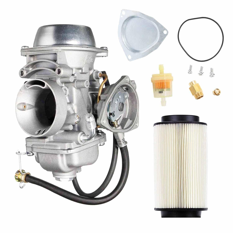 Carburetor w//Air Filter for Polaris Sportsman 500 4X4 HO 2001 2002 2003 2004 2005 Carb