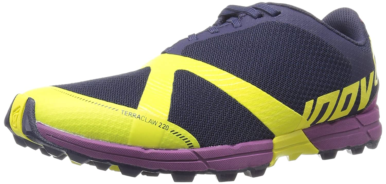 Inov-8 Terraclaw聶 220-U Trail Runner B01B26VICE 7 M US|Navy/Lime/Purple