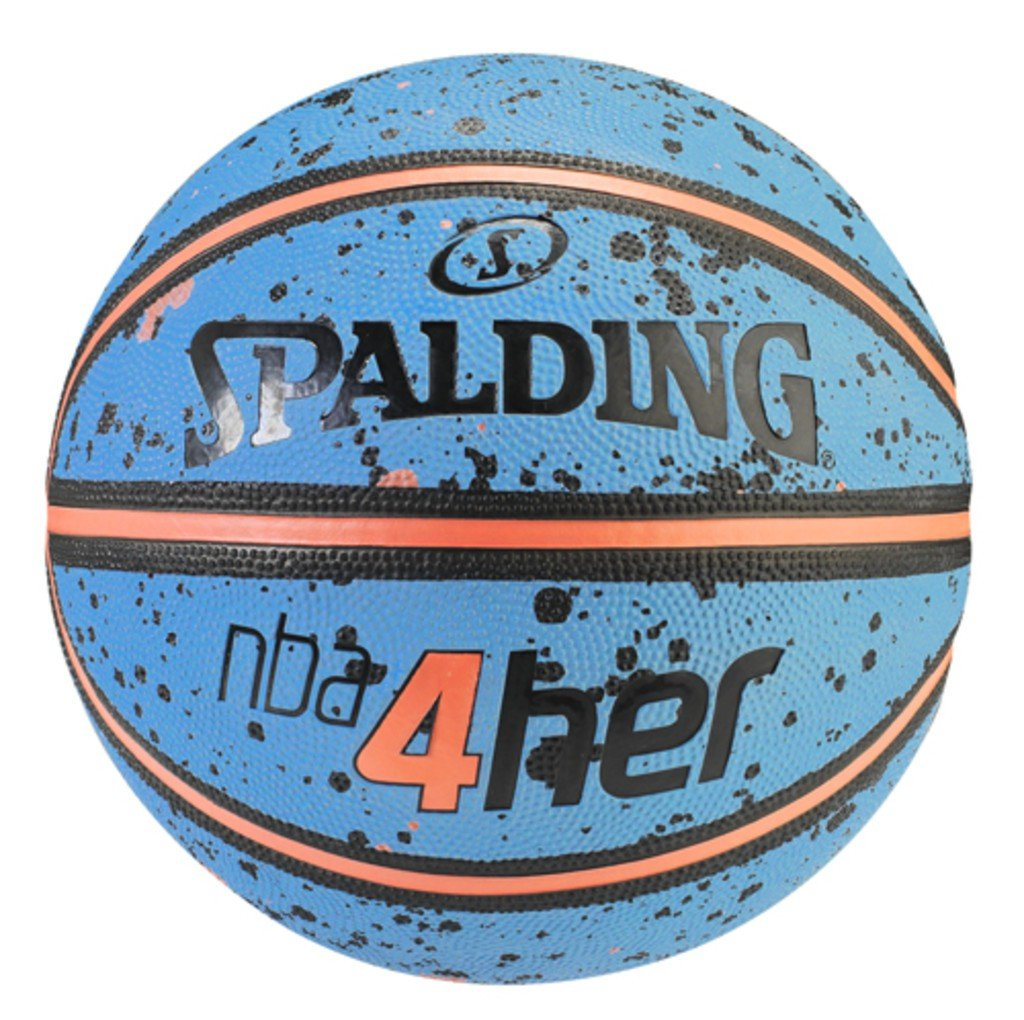 Spalding NBA 4HER SPLATTER SZ.6 (83-308Z) himmelblau/orange 6 3001596011616 SPAM8|#SPALDING