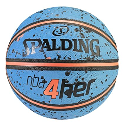 Spalding NBA 4Her Splatter Sz.6 83-308Z Pelota de Baloncesto ...