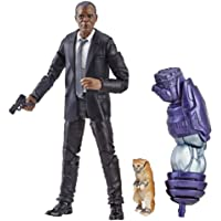Marvel Captain Marvel 6-inch Legends Nick Fury Figure for Collectors, Kids, & Fans