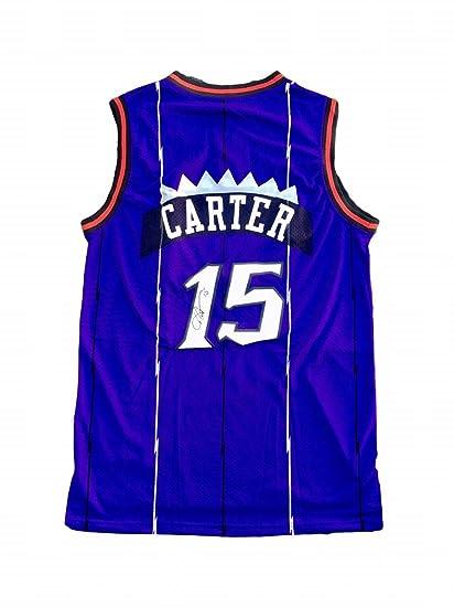 big sale 2544f f7ec4 Vince Carter Autographed Jersey - Beckett BAS - Beckett ...