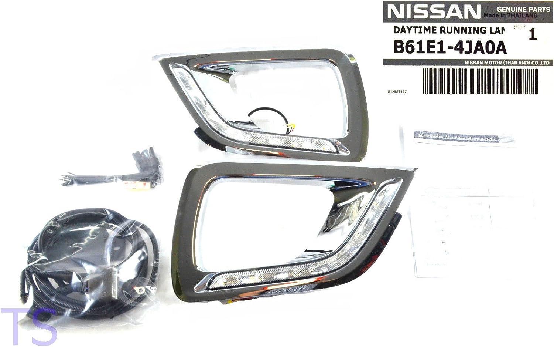 For Nissan Navara NP300 15-2018 LED DRL Daytime Running Light LED Bulb Fog k Set