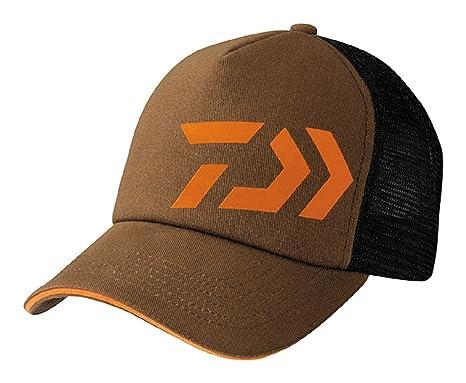 separation shoes 20757 e33f7 Daiwa Trucker Brown Orange Cap Dvec-Tr-Br-Or Fishing Clothing Mens