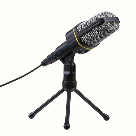 Amazon.com: Audio - Micrófono de condensador profesional con ...