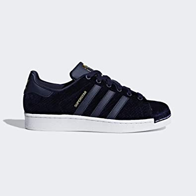 a9127c828d96a adidas Originals Superstar Velvet Marine 39 1/3: Amazon.fr ...