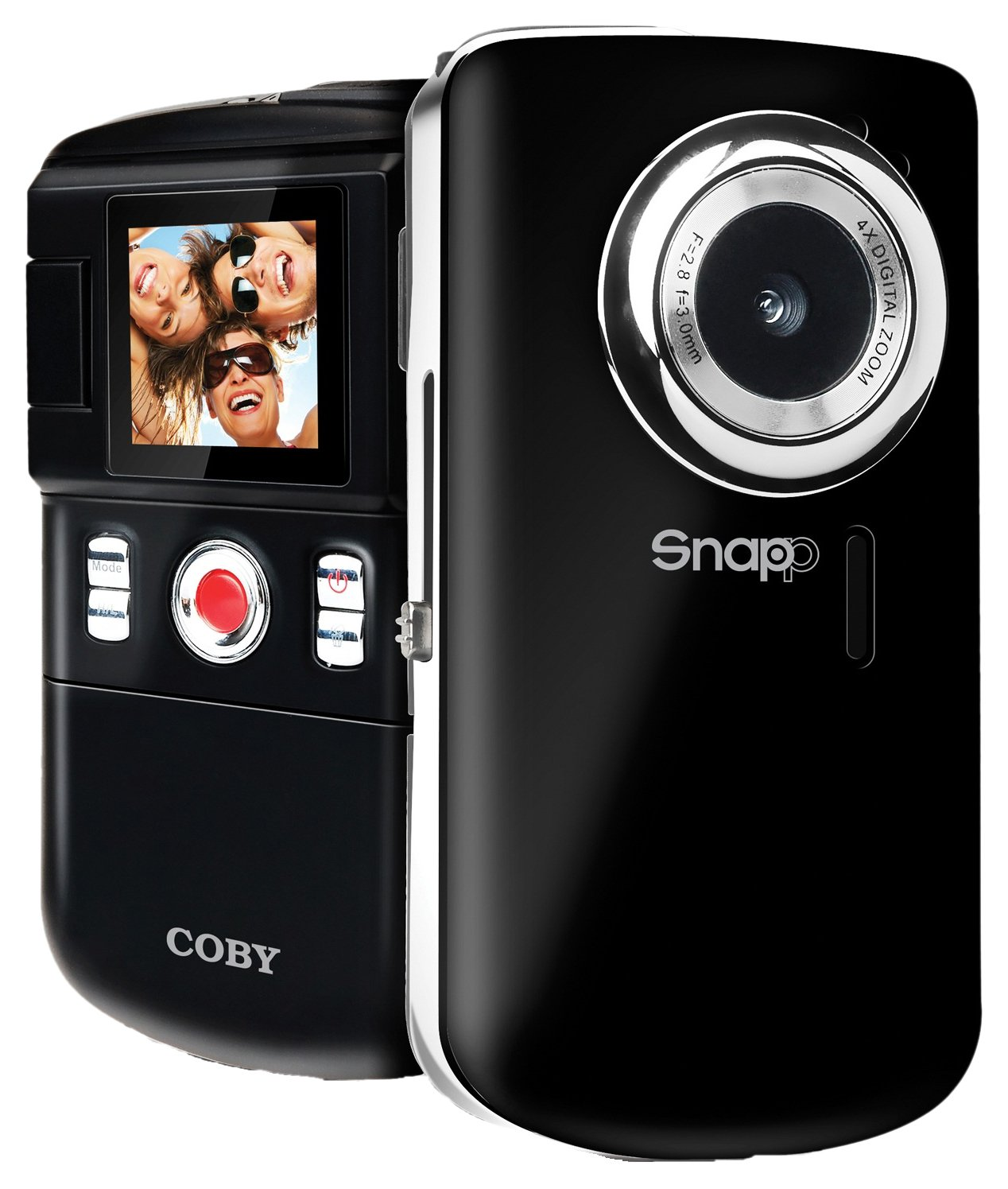 Coby 1.44-Inch TFT LCD SNAPP Mini Camcorder/Camera CAM3001 (Black)