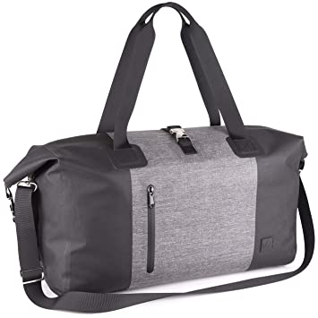 25a60add4 Amazon.com | The Friendly Swede Exclusive Waterproof Weekender Duffel Bag -
