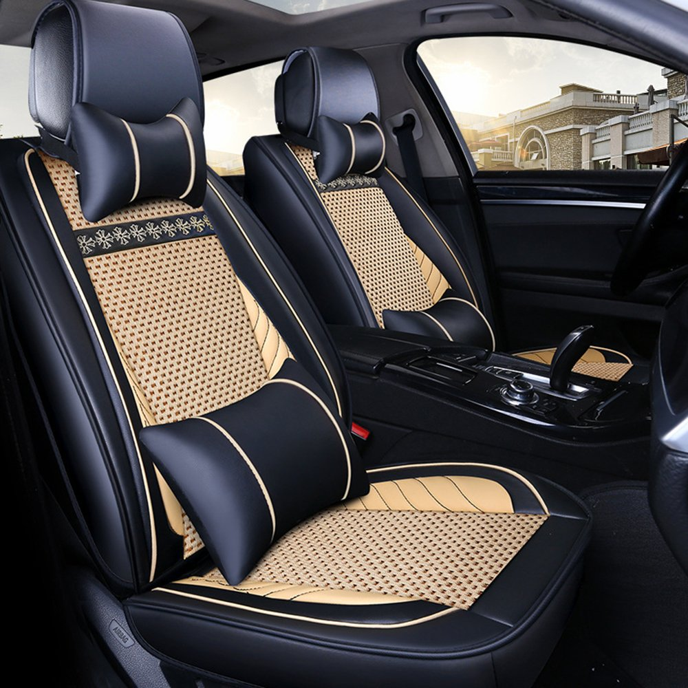 YS01 RECARO SPORTS BLACK CAR SEAT COVERS i TO FIT A TOYOTA YARIS