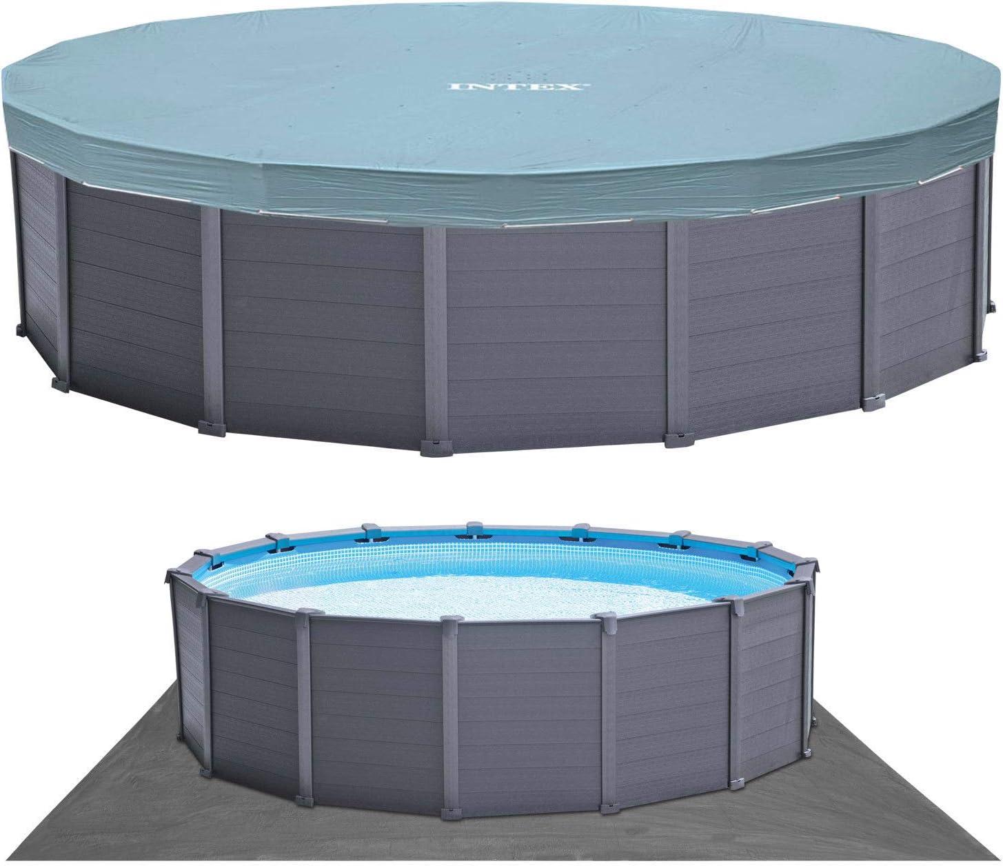 Intex 12353 Pool para el Verano, Azul: Amazon.es: Jardín