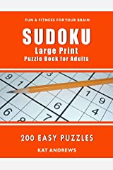 SUDOKU Large Print Puzzle Book for Adults: 200 Easy Puzzles (Puzzle Books Plus) Paperback