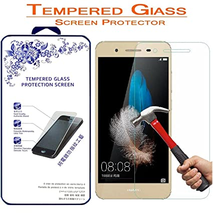 huawei gr3 tempered glassfor huawei gr3 nacodex tempered glass screen protector amazoncom tempered glass