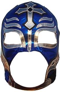 Deportes Martinez Rey Mysterio Lycra Lucha Libre Luchador Wrestling Masks Adult Size Blue