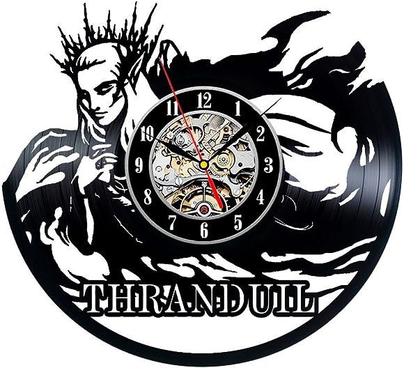 Gullei.com Thranduil Theme Unique Handmade Vintage Vinyl Clock