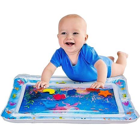 Almohadilla Patted Inflable para Bebés - Alfombrilla Inflable para Juegos de Agua para Bebés para Niños Pequeños Infantes BPA Libre de Lucha contra ...