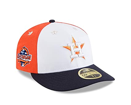 New Era Houston Astros 2018 MLB All-Star Game On Field - Gorro (Perfil da1cdb3d0b0