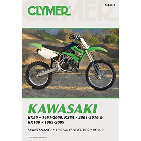 amazon com 01 10 kawasaki kx85 clymer service manual misc rh amazon com Kawasaki 100 KX How Tall 2006 Kawasaki KX100