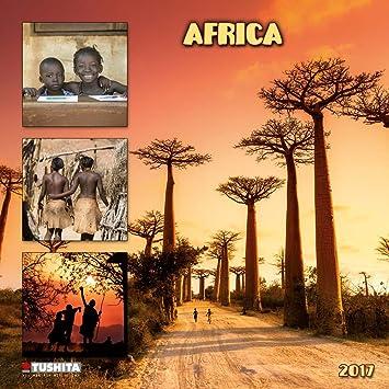 Calendario 2017 afrique- sabana - Visage africano - paisaje ...