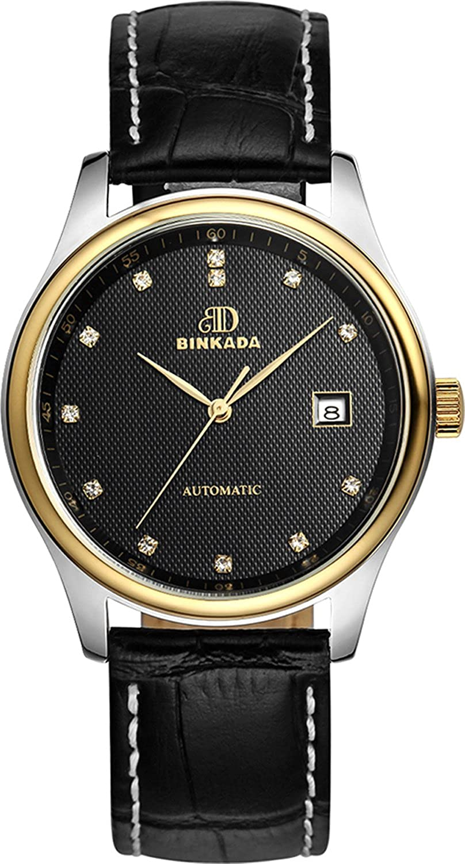 BINKADA人気for Man自動機械ブラックダイヤルHisメンズ腕時計# 7001 N02 – 4 B00Y4WRX28