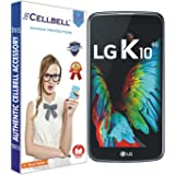 CELLBELL® Tempered Glass Screen Protector For LG K10 With FREE Installation Kit