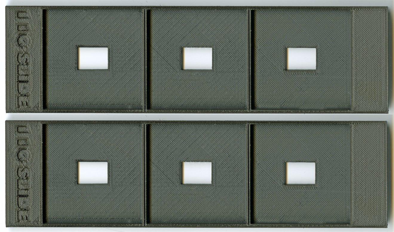 110 slide holder/adapter for Epson Perfection V550/V600 film scanners