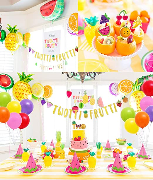 Amazon.com: 70 paquetes de decoración para fiestas de tutti ...