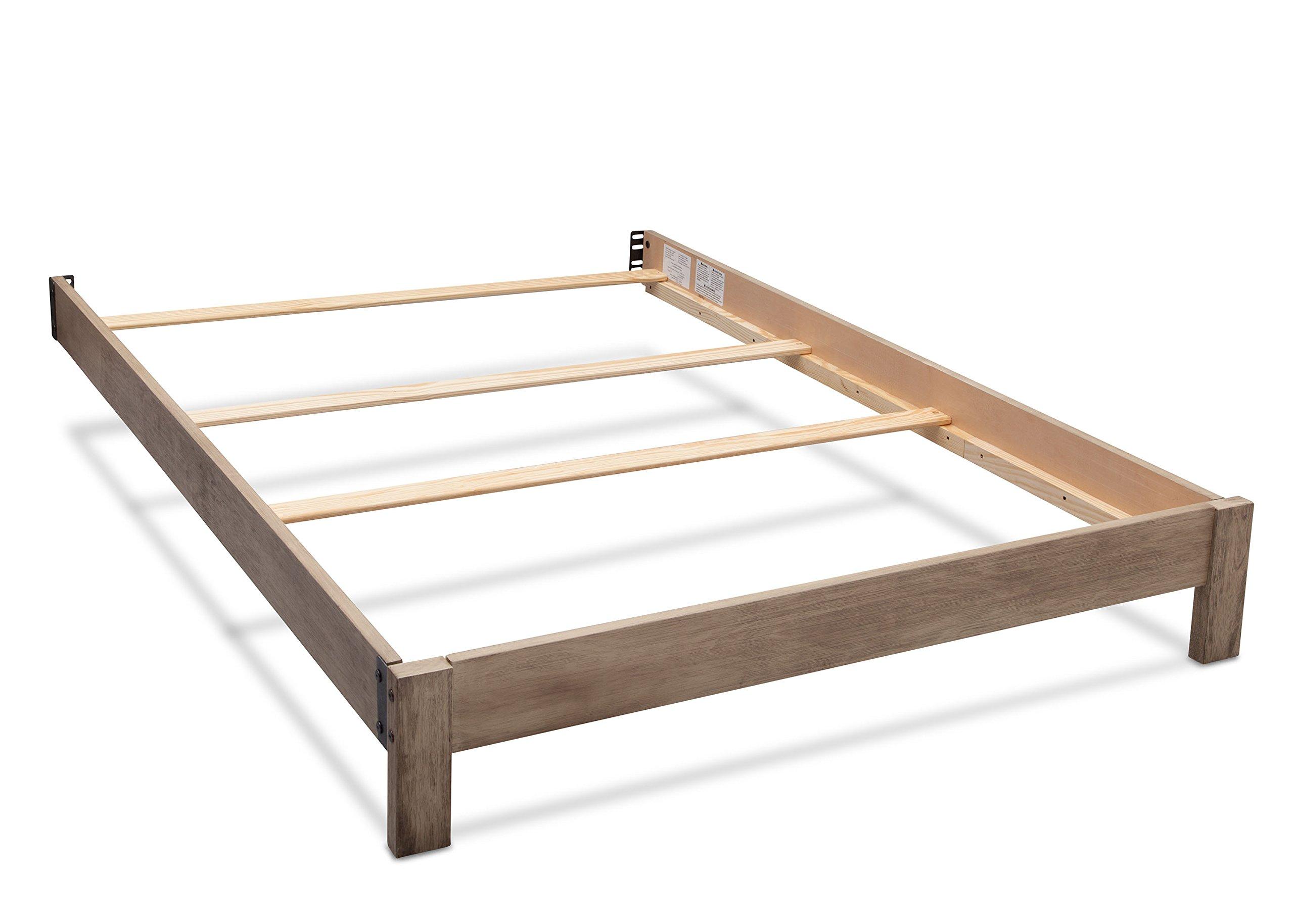 Serta Full Size Platform Bed Kit #700850, Rustic Whitewash