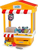 Claw Toy Grabber, Home Arcade Electronic Machine with LED Lights &