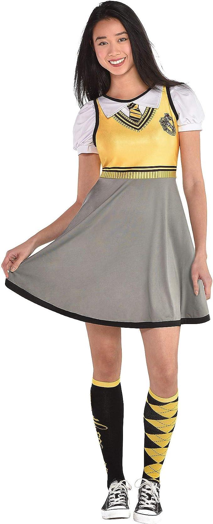 Disfraz de Harry Potter Hufflepuff para Mujer, tamaño estándar, se ...