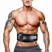 DOMAS Ab Belt Abdominal Muscle Toner- Abs Stimulator with 8 Modes Electronic Abs...