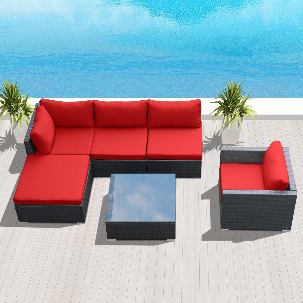 Amazon.com: modenzi l6d-u Seccional Muebles de jardín al ...